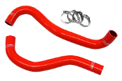 HPS RADIATOR HOSE KIT (RED) 12-15 HONDA CIVIC SI (57-1199R)