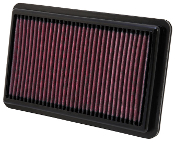 K&N DROP-IN AIR FILTER, 12-15 CIVIC SI (33-2473)