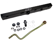 AEM STEALTH RACING FUEL-RAIL, 12-15 CIVIC SI K24Z7 (25-111BK)