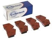 CARBOTECH XP10 BRAKE PADS, 12-16 PORSCHE 991 CARRERA S (FRONT)
