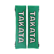 "TAKATA 2"" SEAT-BELT HARNESS COMFORT PADS (GREEN) 78011"