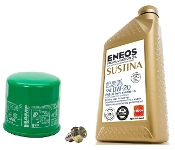 ENEOS SUSTINA 0W-20 MOTOR OIL CHANGE KIT, 12-15 HONDA CIVIC R18