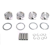 CP FORGED PISTONS SET (OVER-SIZE) 06-15 HONDA CIVIC R18 (SC7024)