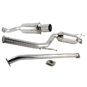 DC SPORTS CAT-BACK EXHAUST, 12-15 HONDA CIVIC R18 (SCS7036)