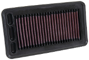 K&N DROP-IN AIR FILTER, 16-19 HONDA CIVIC 1.5T FC1/FC3 (33-5044)