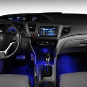 JDM OEM HONDA INTERIOR FLOOR LED LIGHT KIT (BLUE) 12-15 CIVIC