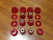 FKX RACING REAR BUSHINGS KIT, 12-15 HONDA CIVIC