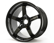 "20"" ADVAN GT PORSCHE FORGED WHEELS, BLACK (SET OF 4)"