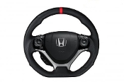 BUDDY CLUB STEERING WHEEL KIT, 12-15 HONDA 9TH GEN CIVIC FB6/FG4
