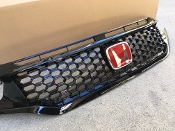 10TH GEN CIVIC HIGH FLOW COOLING GRILL (BLACK) FK8/FK7/FC3/FC1
