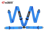 CUSCO 4 POINT FIA RACING SEAT-BELT HARNESS (BLUE)