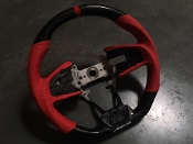 BUDDY CLUB TIME-ATTACK CARBON-FIBER STEERING WHEEL, 16-20 CIVIC