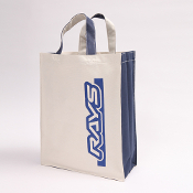 RAYS ENGINEERING TOTE BAG (NATURAL WHITE)