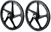 FACECARD BMX PRO-MAGS OLD SCHOOL WHEELS (BLACK)
