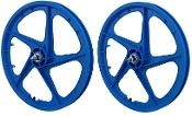FACECARD BMX PRO-MAGS OLD SCHOOL WHEELS (BLUE)