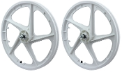 FACECARD BMX PRO-MAGS OLD SCHOOL WHEELS (WHITE)