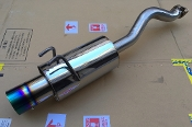 FKX RACING R18 AXLE-BACK EXHAUST, 12-15 CIVIC 1.8 DX/LX/EX FB2
